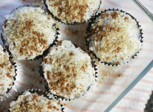 cinnamon walnut cupcakes