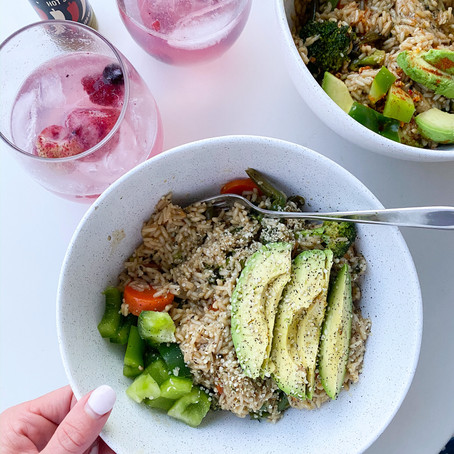 chicken + broccoli stir fry