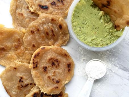 gluten-free pita/naan bread