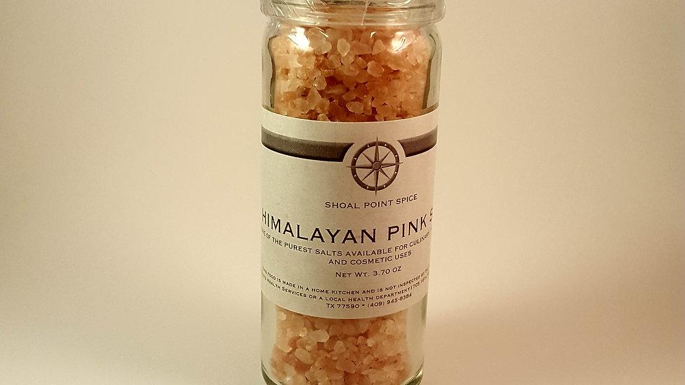 Himalayan Pink Salt w/grinder top