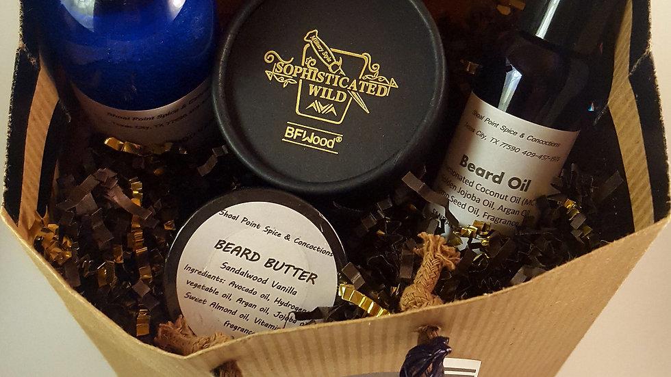 Beard Kit Sandalwood Vanilla