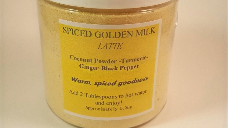 Spiced Golden Milk Latte