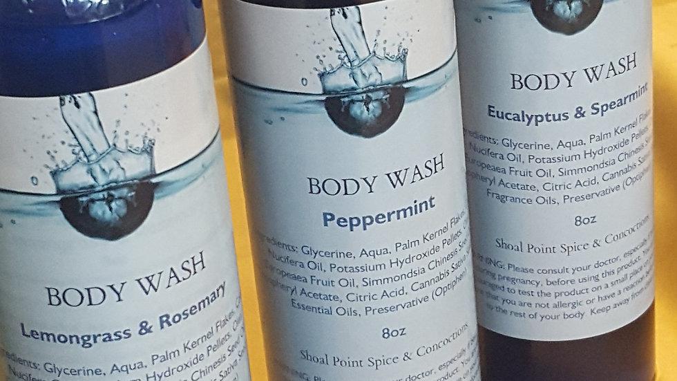 Body Wash - Peppermint