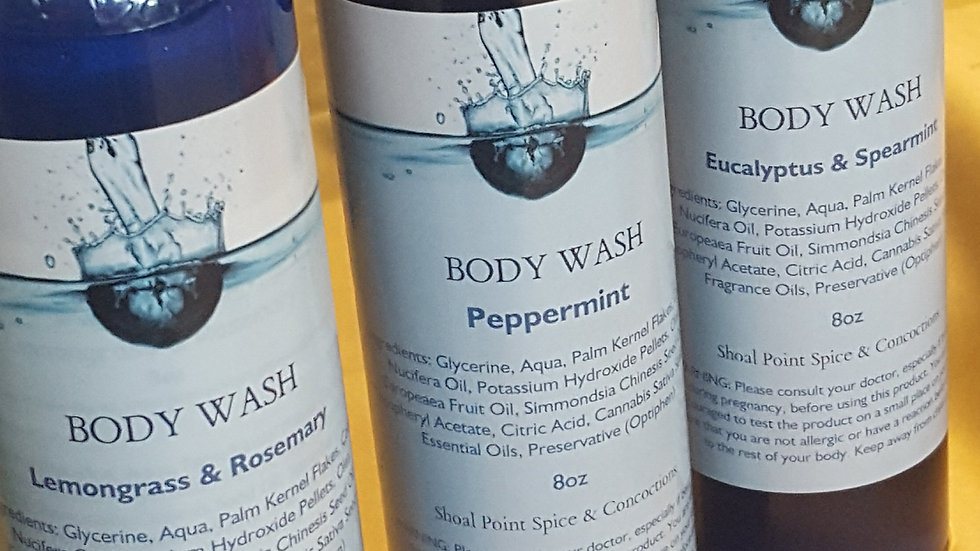 Body Wash - Eucalyptus & Spearmint