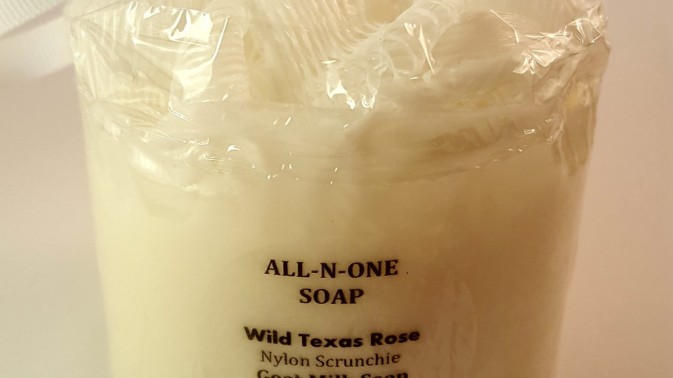 ALL-N-ONE SOAP - Goat Milk with Wild Texas Rose