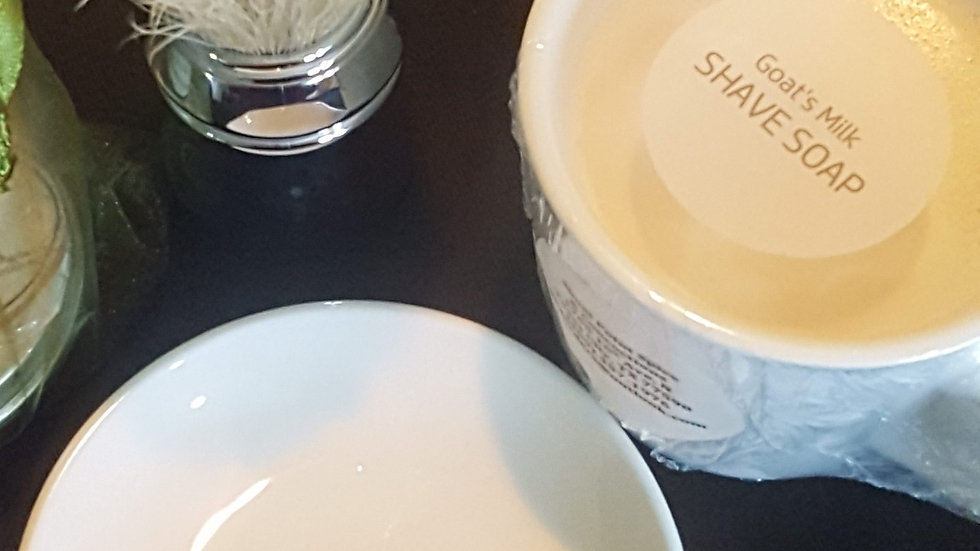 Wet Shave Set - Goat Milk