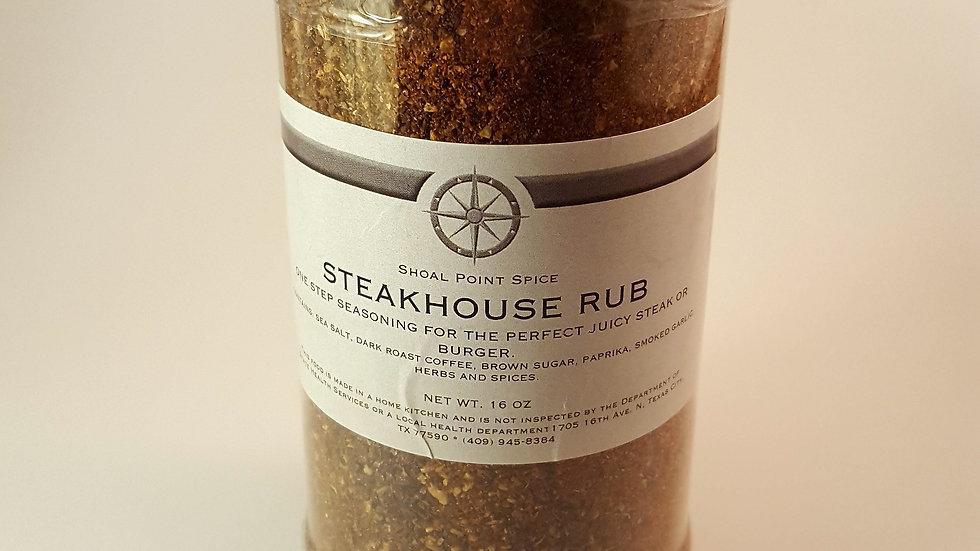 Steakhouse Rub *