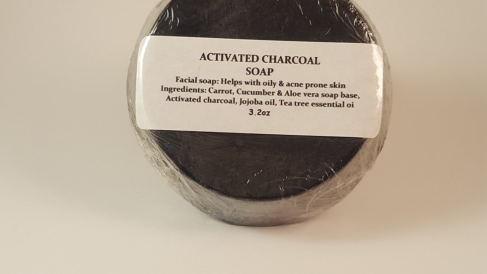 Face Soap - Activated Charcoal