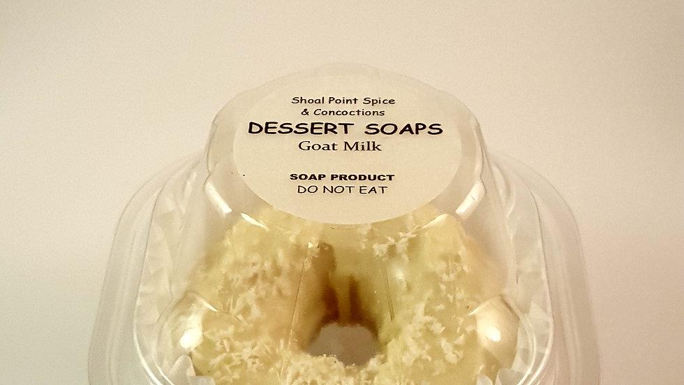 Dessert Soaps - Goat Milk - Coconut Lemon