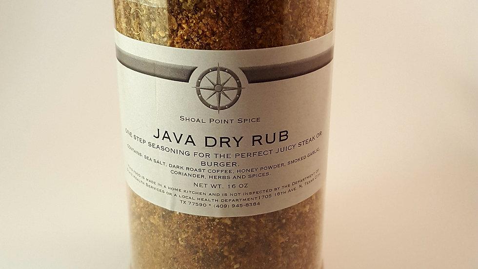 Java Dry Rub *