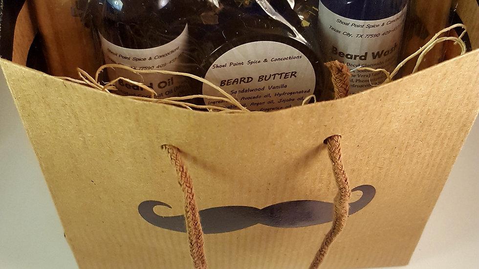 Beard Pack Sandalwood Vanilla