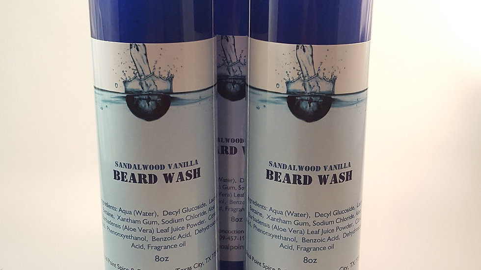 Beard Wash - Sandalwood Vanilla