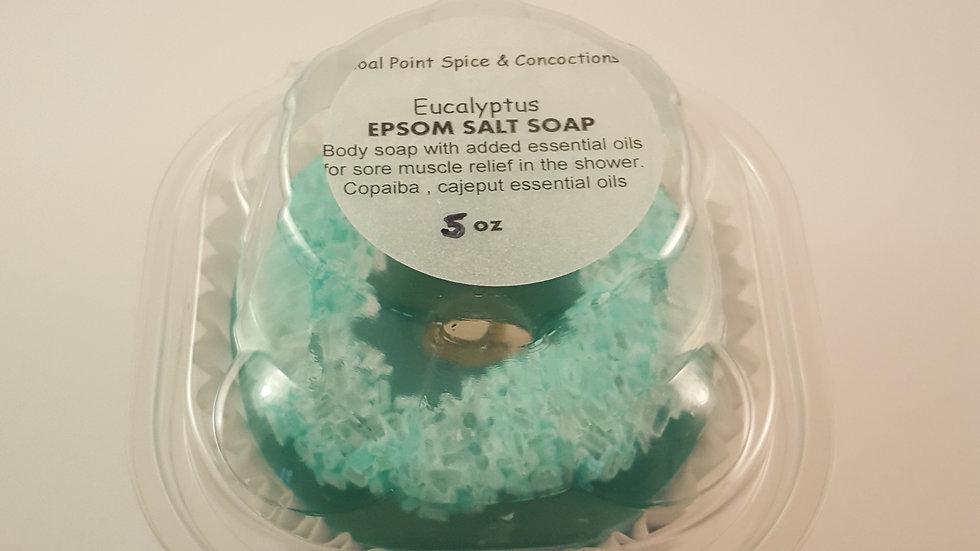 Epsom Salt Soap - Eucalyptus