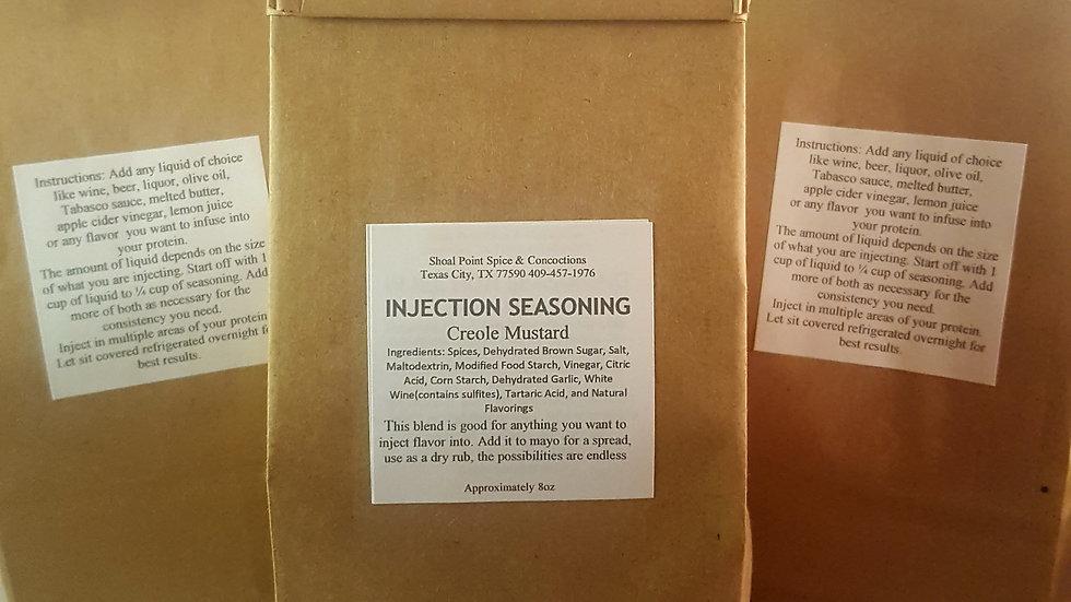 Injection Seasoning - Creole Mustard