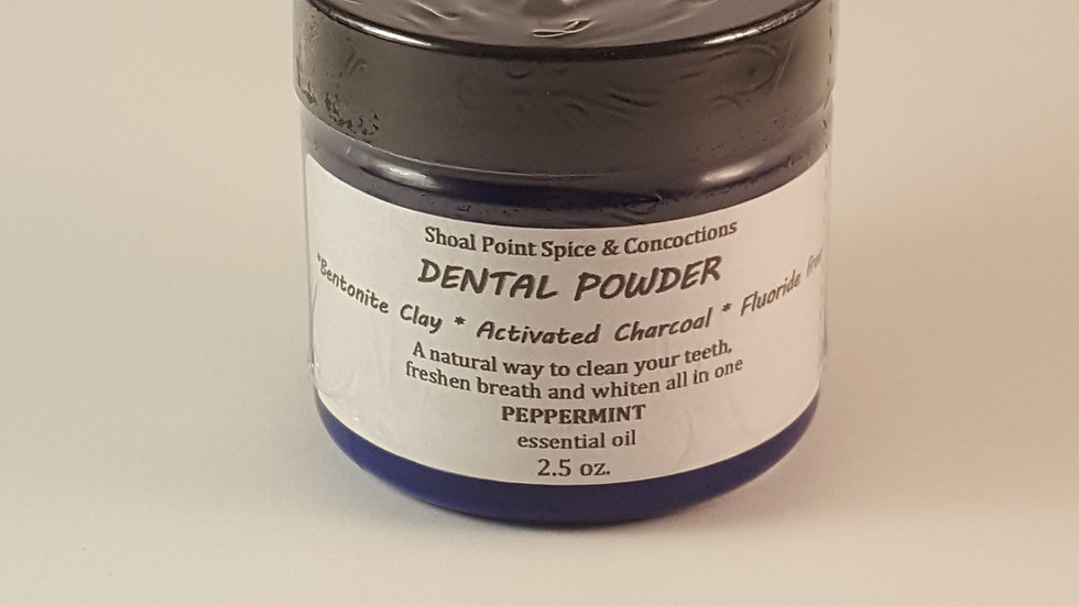 Dental Powder - Peppermint (small)