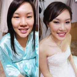 Wedding Makeup Artist Singapore TheLuckiestChick fidelis toh (17)