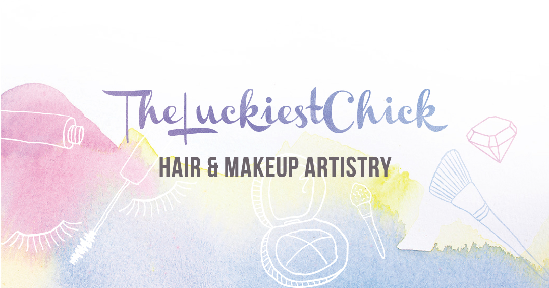 TheLuckiestchick Hair & Makeup Logo copy