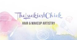 TheLuckiestchick Hair & Makeup Logo copy