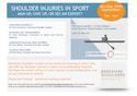 Shoulder Injuries in Sport - 25th September 2017