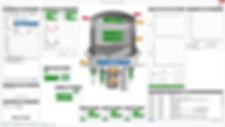 Plasma coating automation system screenshot