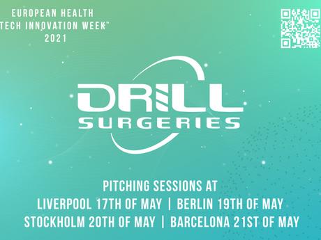Drill Surgeries Ltd. Exhibitor at the EUROPEAN HEALTH TECH INNOVATION WEEK