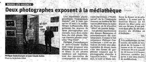 Article DL 17 avril 21 Expo Instantanés