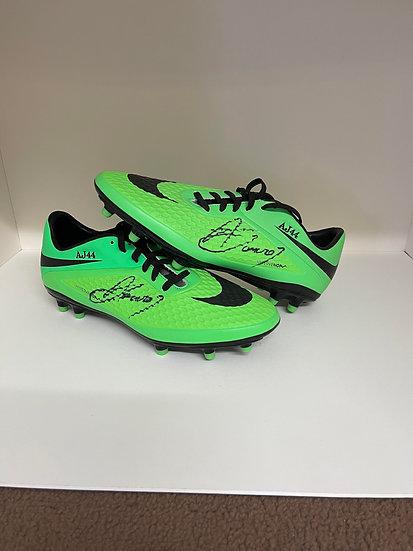 Adnan Januzaj Signed Boots