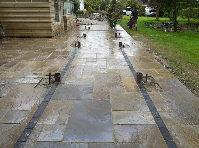 Different angle of Paving