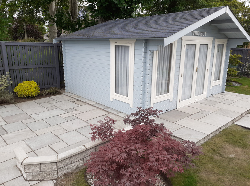 Another angle of Decking Paving
