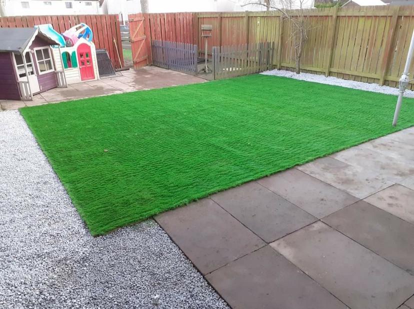 Artificial Grass by Aberpaving & Gardening