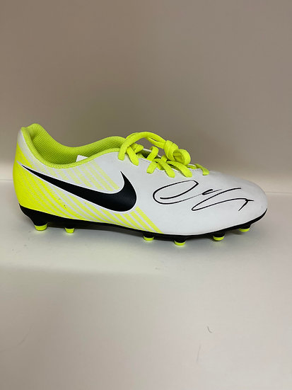 Alexis Sanchez Signed Boots