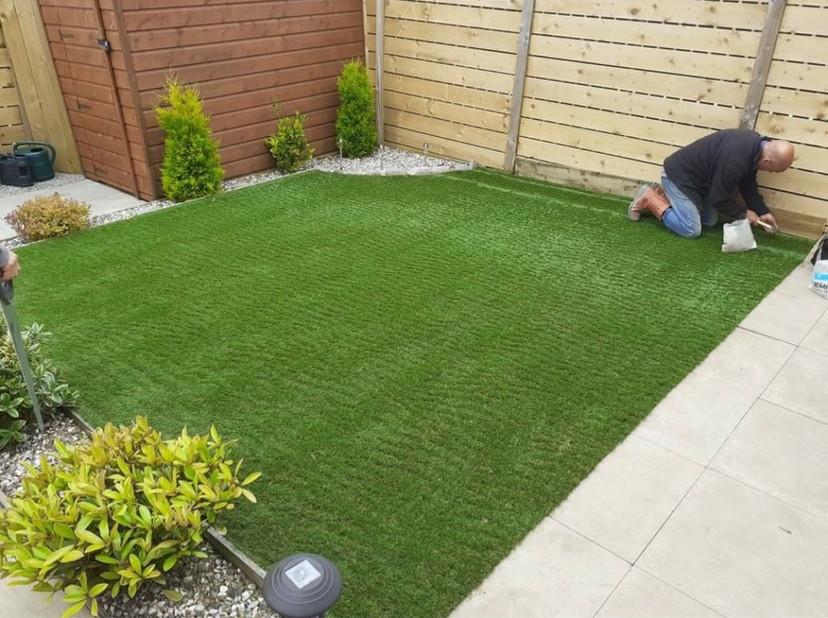 Artificial Grass process