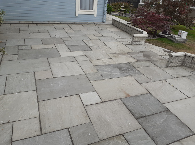 Closer look at Decking Paving