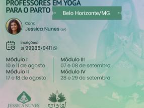 Formação de Profesores em Yoga para o Parto em Belo Horizonte/MG - Ago & Set/2019