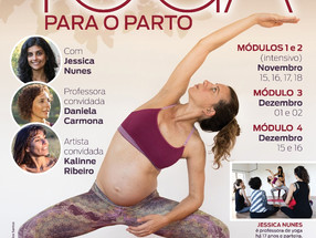 Curso de Formação em Yoga para o Parto - Florianópolis/SC Nov/Dez 2018