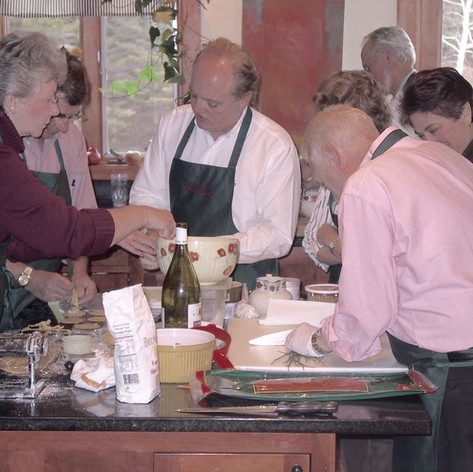 An Odyssey Events cooking class