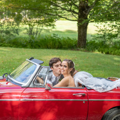 MGB Bride drives!