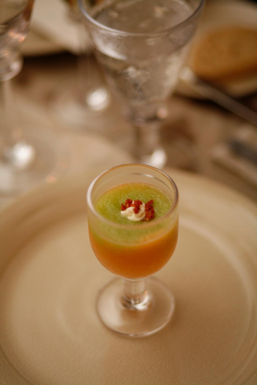 Soup as intermezzo
