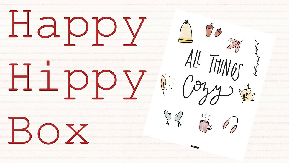 September Happy Hippy Box