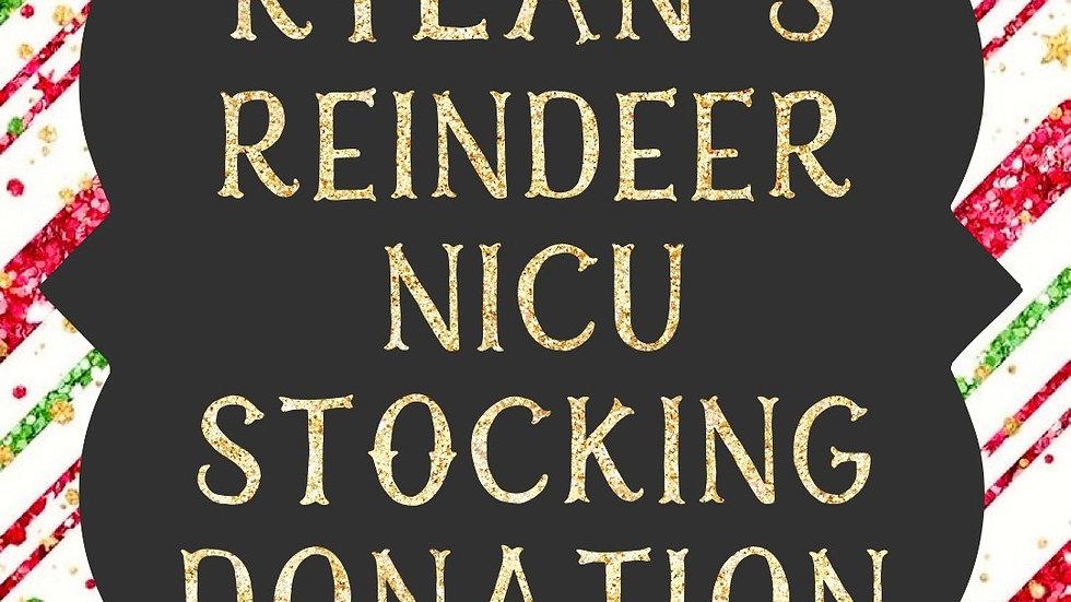 RYLAN'S REINDEER NICU STOCKING DONATION