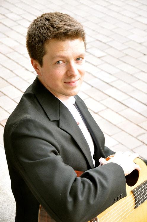Jamie Balmer, classical guitar