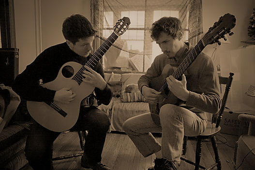Duo Orfeo, Jamie Balmer & Joseph Ricker
