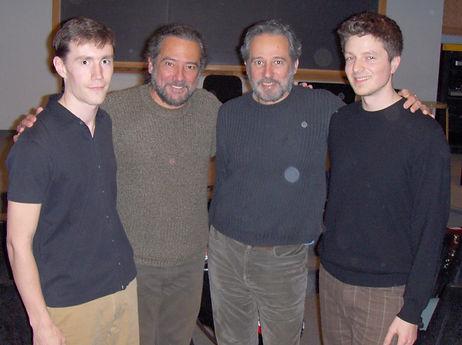 Jamie Balmer, Joe Ricker, Sergio & Odair Assad
