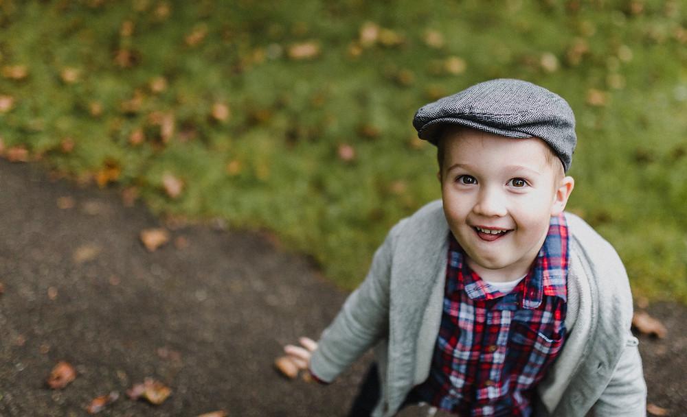 Cheeky Smile, Durham Ontario Lifestyle Photography