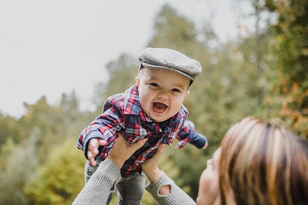 Happy Baby Photography Durham Ontario