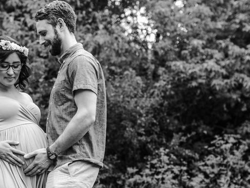 Jenny and Tim Maternity Session | Old Mill, Toronto | Carol Poitras Photography