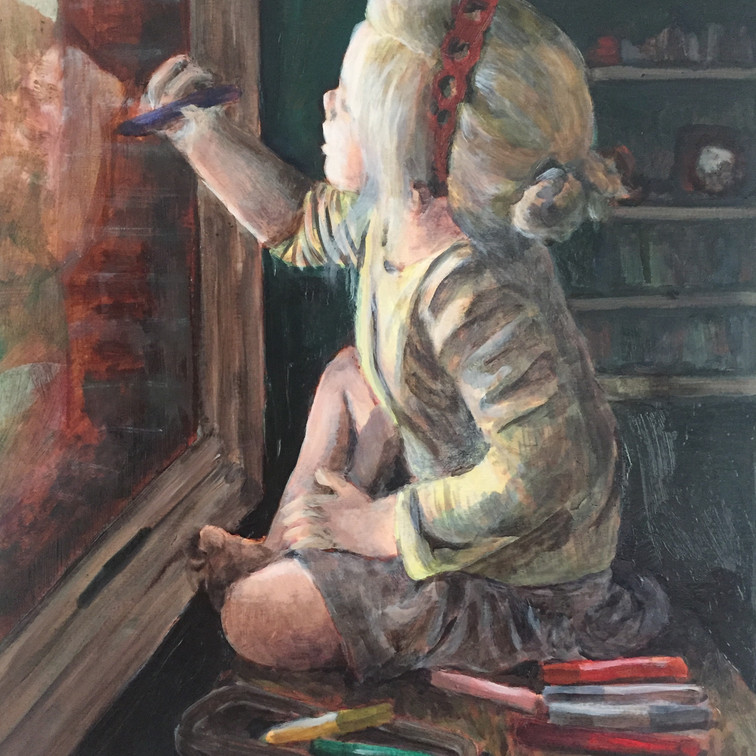 Lily at the Window (2017)