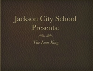 JCS Production of the Lion King