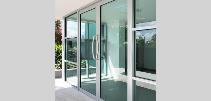 Crestlite hinged door