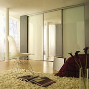 Framed sliding wardrobe doors